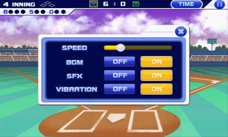 ベースボールスーパースターズ2011 androidアプリスクリーンショット3