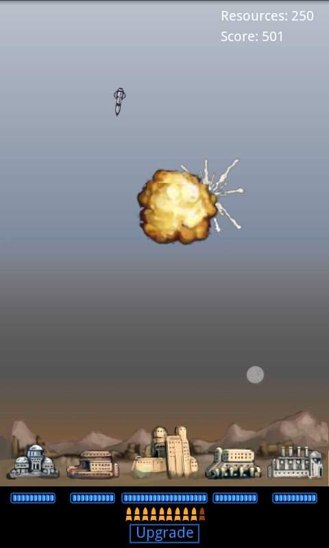 マッドミサイルディフェンス androidアプリスクリーンショット1