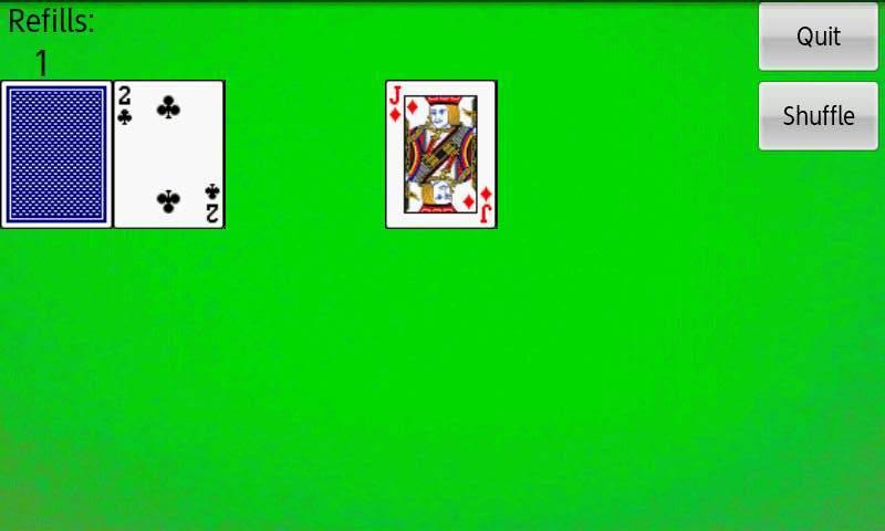 ピラミッドソリティア androidアプリスクリーンショット2
