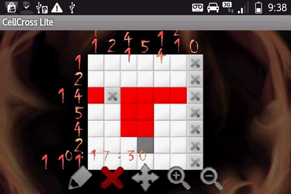 セルクロス ライト androidアプリスクリーンショット1