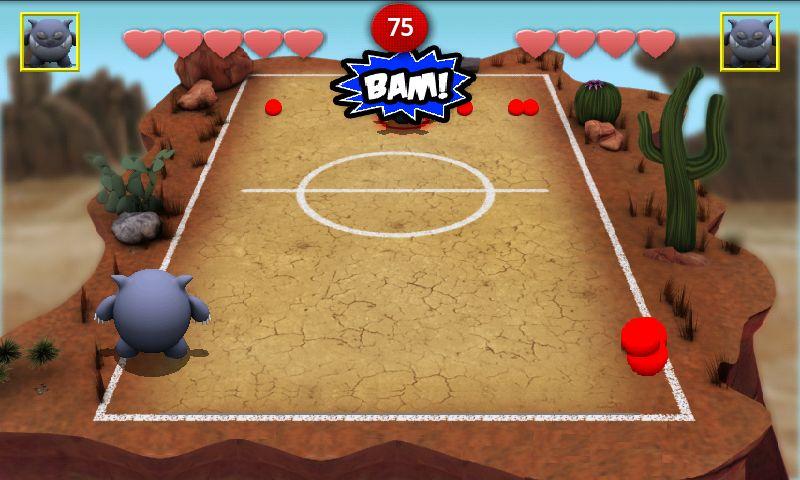 androidアプリ チョンピーズドッジボール ライト攻略スクリーンショット4