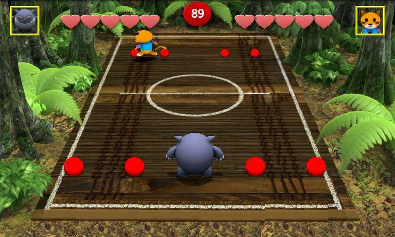 チョンピーズドッジボール ライト androidアプリスクリーンショット1