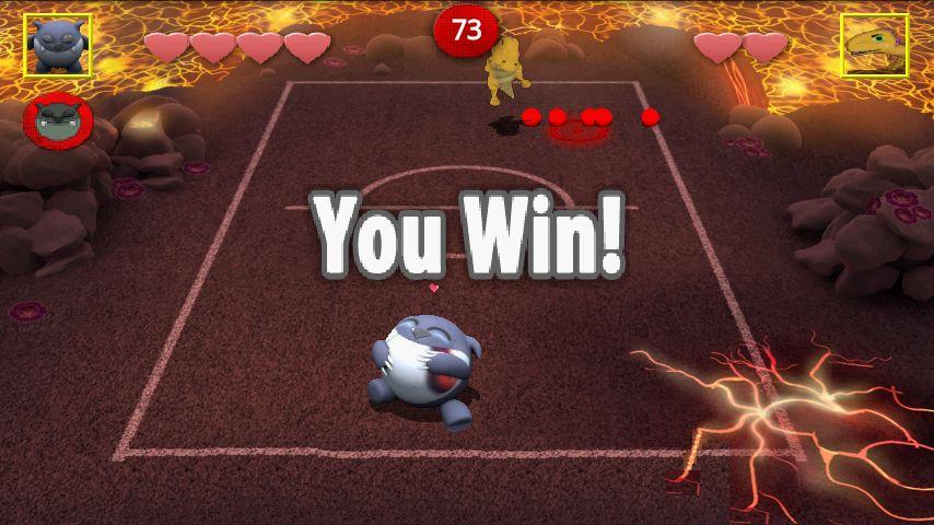 チョンピーズドッジボール ライト androidアプリスクリーンショット2