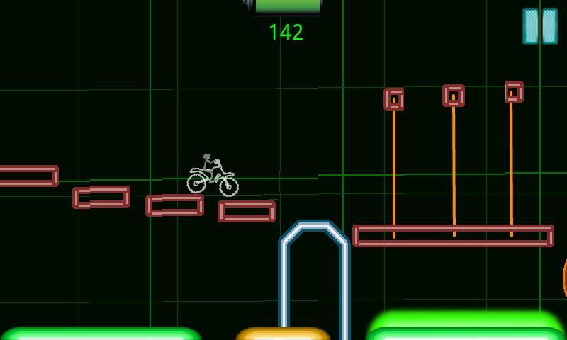 androidアプリ スペースバイク フル攻略スクリーンショット3