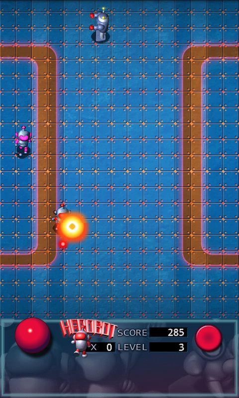 ヒーローボットライト androidアプリスクリーンショット1