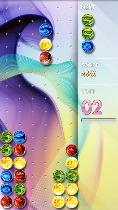 androidアプリ カラリックス エイチディー攻略スクリーンショット1
