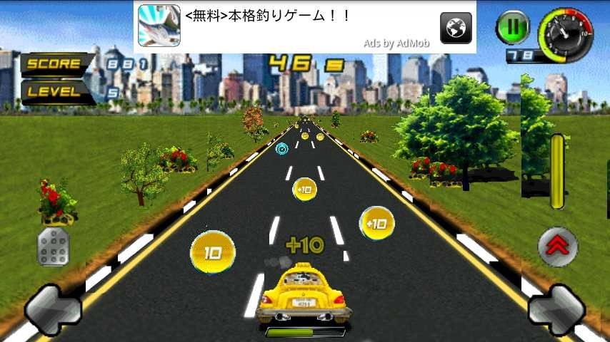 androidアプリ ワクシータクシー攻略スクリーンショット3