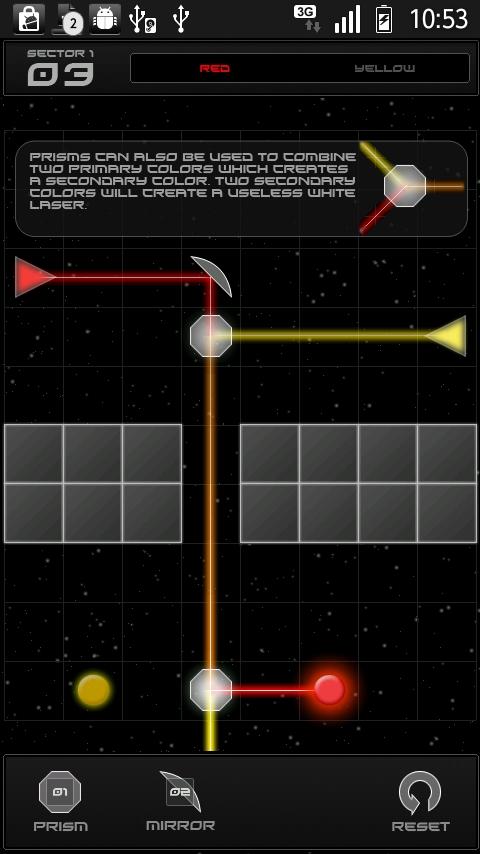 androidアプリ リフレクション攻略スクリーンショット3