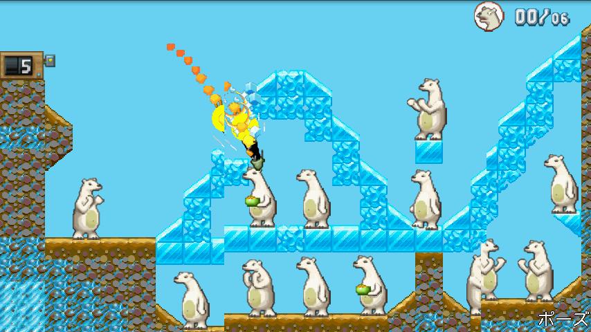 クレイジー・ペンギン・カタパルト androidアプリスクリーンショット1