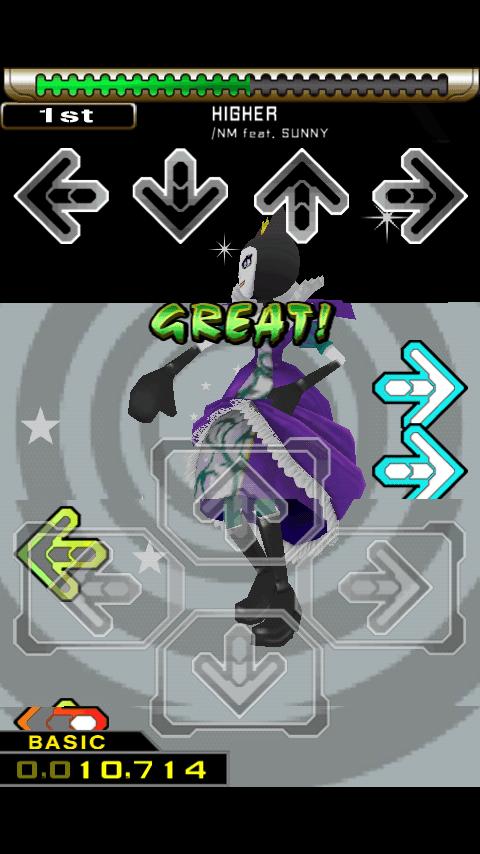 ダンスダンスレボリューション エス androidアプリスクリーンショット1