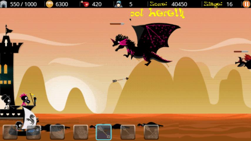 ドラゴンハンター androidアプリスクリーンショット1