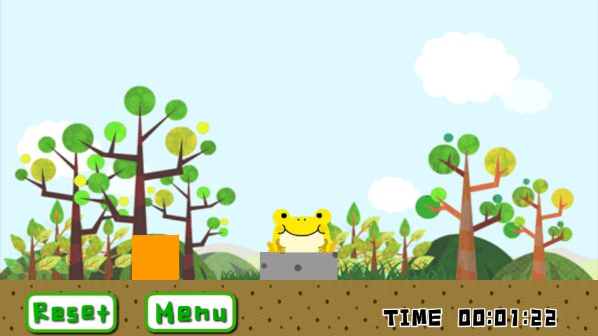 ひっくりカエル androidアプリスクリーンショット1