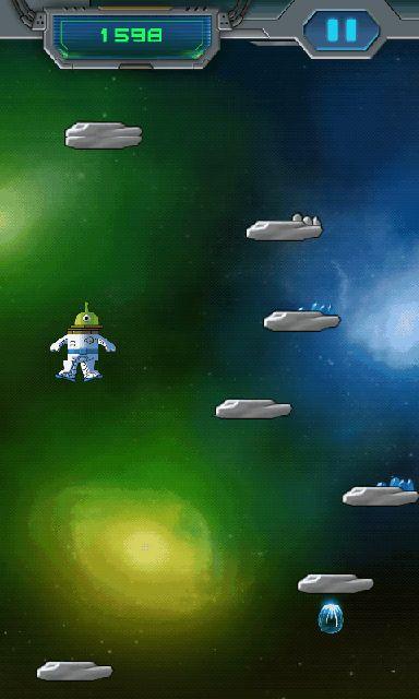 androidアプリ スペース ジャンプ攻略スクリーンショット2
