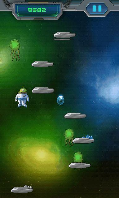 androidアプリ スペース ジャンプ攻略スクリーンショット3