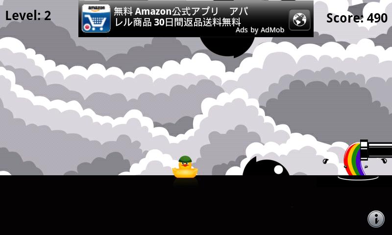 ダック vs ビーピー androidアプリスクリーンショット1