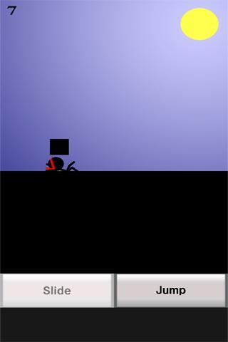 androidアプリ ニンジャスライダー攻略スクリーンショット2