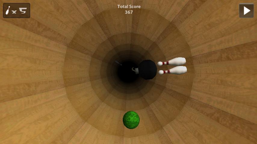 androidアプリ トンネルボウリング攻略スクリーンショット2