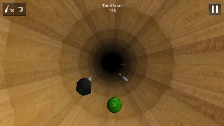 トンネルボウリング androidアプリスクリーンショット1