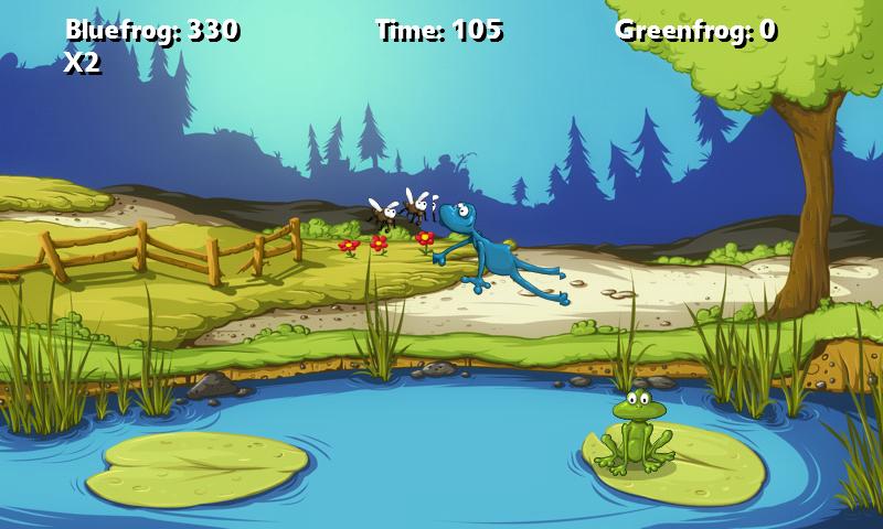 ア フロッグゲーム androidアプリスクリーンショット1