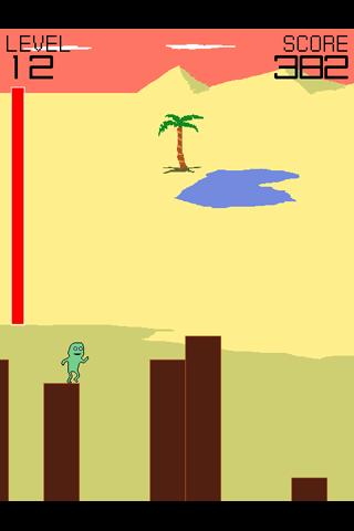 ジョージのジャンプ androidアプリスクリーンショット1