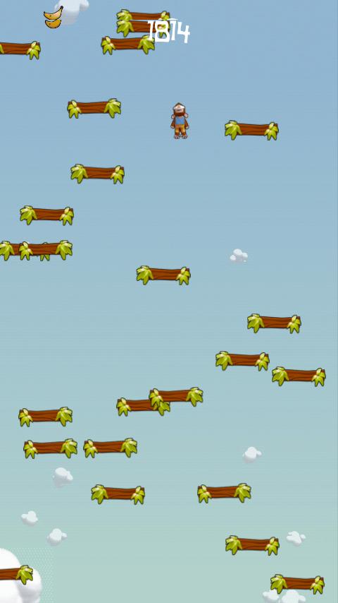 androidアプリ ジャンプモンキージャンプ攻略スクリーンショット1
