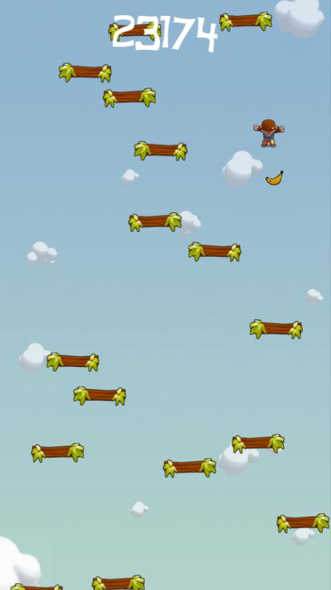 androidアプリ ジャンプモンキージャンプ攻略スクリーンショット2