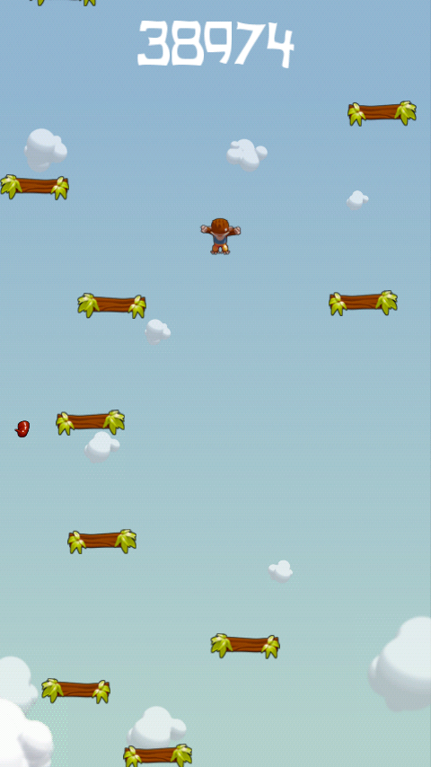 androidアプリ ジャンプモンキージャンプ攻略スクリーンショット3