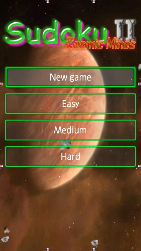 androidアプリ コズミックマインズ2スウドク攻略スクリーンショット3