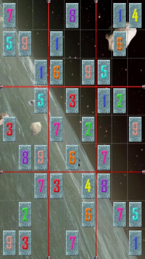 androidアプリ コズミックマインズ2スウドク攻略スクリーンショット5