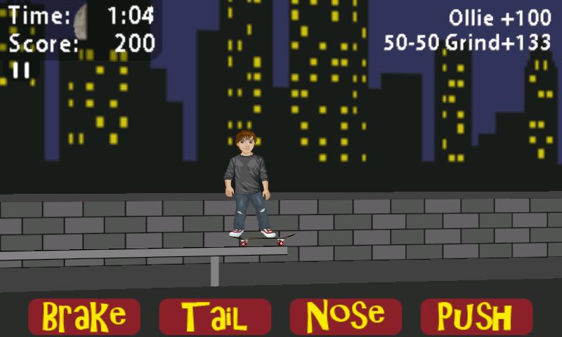 androidアプリ シャーン マクナリティ スケートボーディング攻略スクリーンショット4