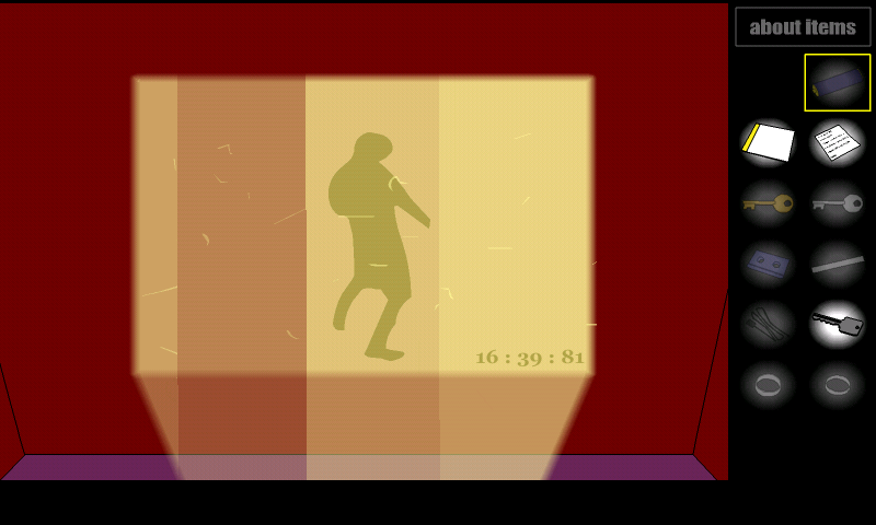 androidアプリ クリムゾンルーム'11攻略スクリーンショット4