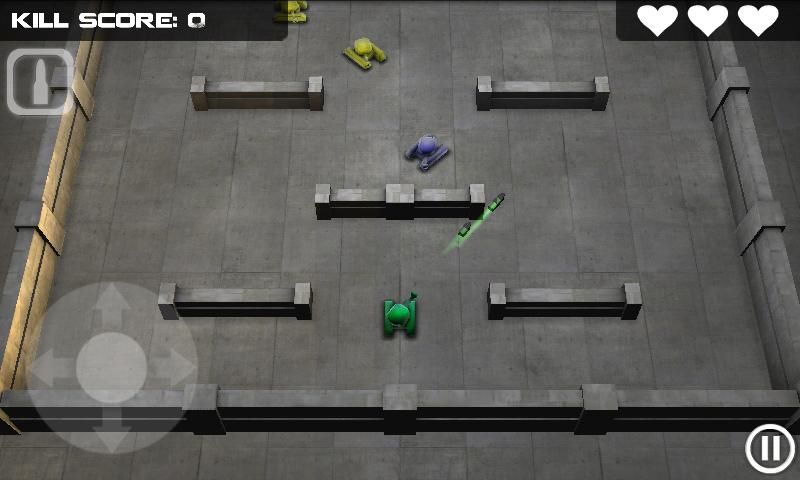 タンクヒーロー androidアプリスクリーンショット1
