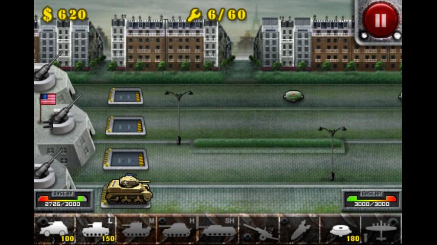 androidアプリ 欧陸戦争の鎧攻略スクリーンショット1