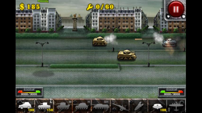 androidアプリ 欧陸戦争の鎧攻略スクリーンショット3