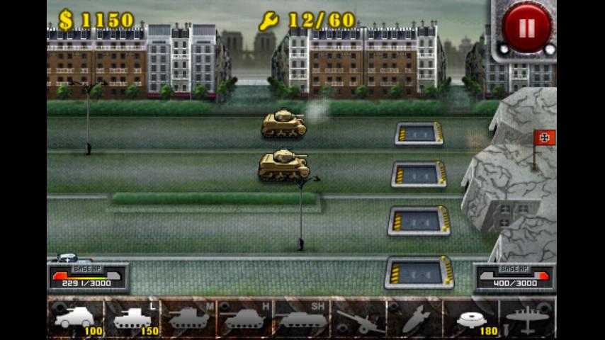 androidアプリ 欧陸戦争の鎧攻略スクリーンショット4