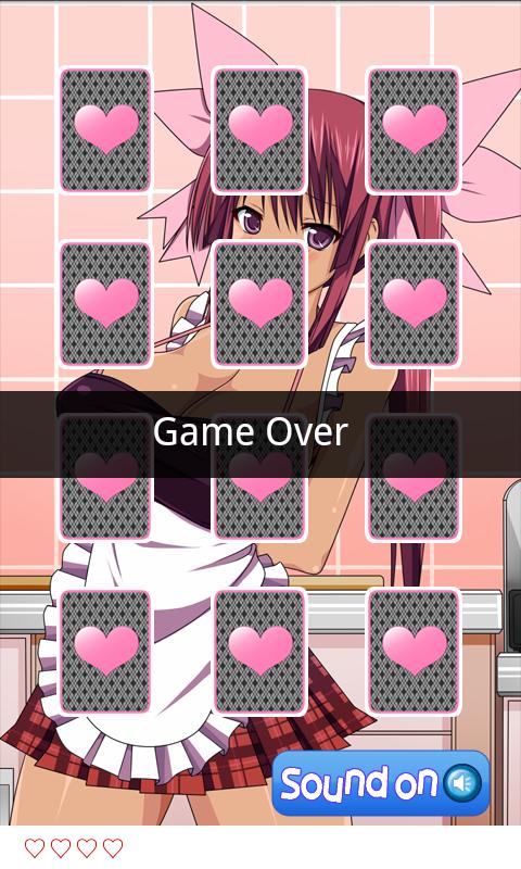 androidアプリ 萌え神経衰弱! No.001攻略スクリーンショット3
