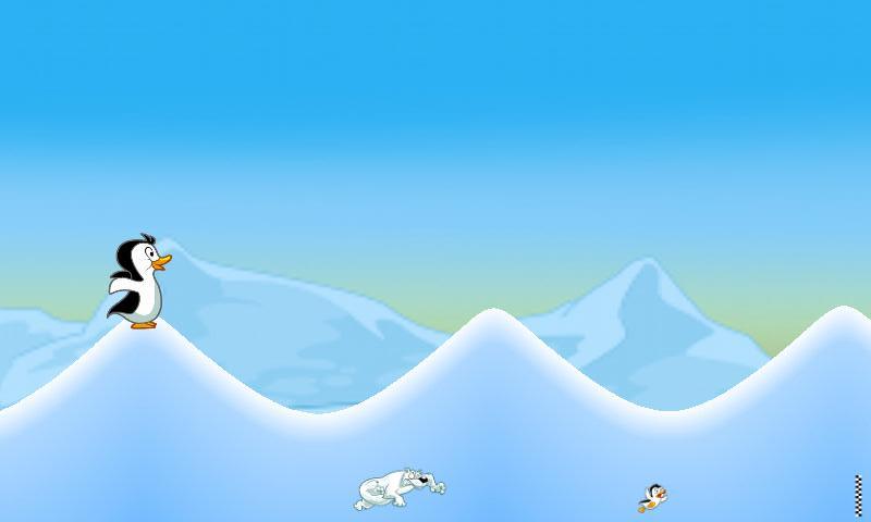 フライングペンギンベストフリーゲーム androidアプリスクリーンショット1