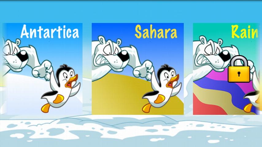 フライングペンギンベストフリーゲーム androidアプリスクリーンショット2