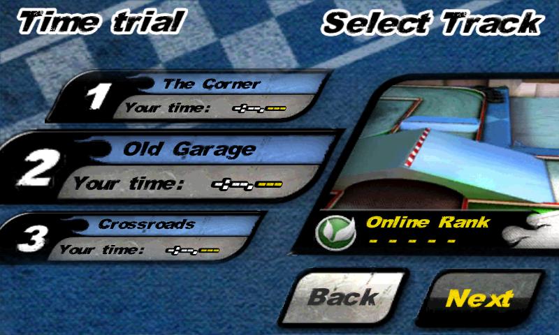 タッチレーシングニトロ androidアプリスクリーンショット2