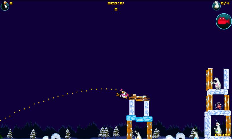 androidアプリ クレイジーペンギンアサルト攻略スクリーンショット3