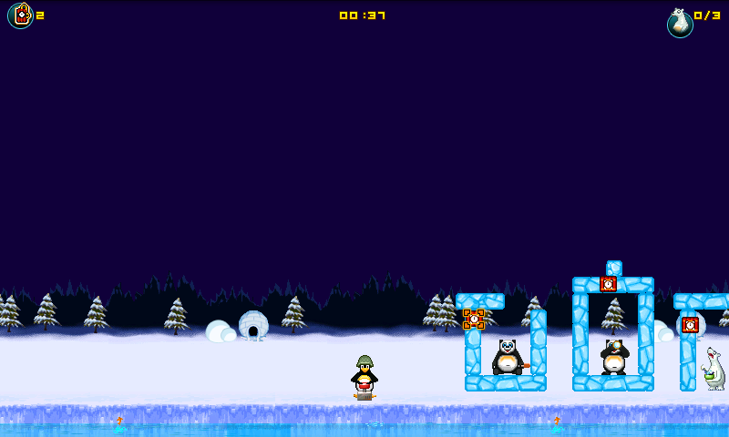 クレイジーペンギンアサルト androidアプリスクリーンショット2