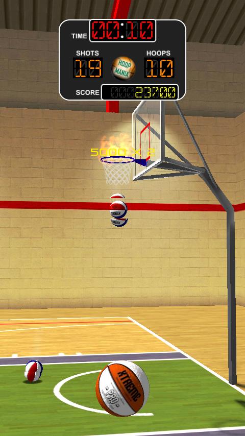 androidアプリ バスケットボール ダンカデリック攻略スクリーンショット2