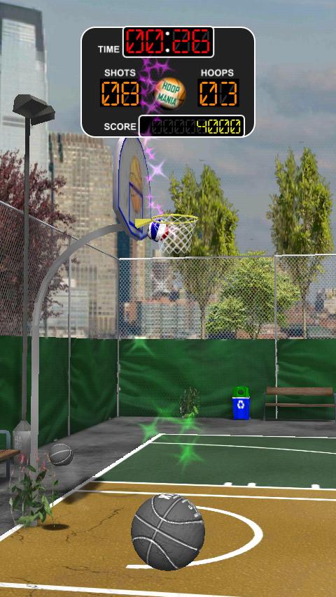 バスケットボール ダンカデリック androidアプリスクリーンショット1