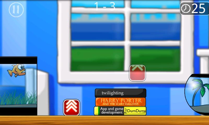 androidアプリ セイブ ザット フィッシュ攻略スクリーンショット1