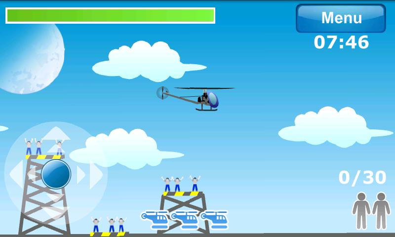 androidアプリ ヘリコプターエアレスキュー攻略スクリーンショット2