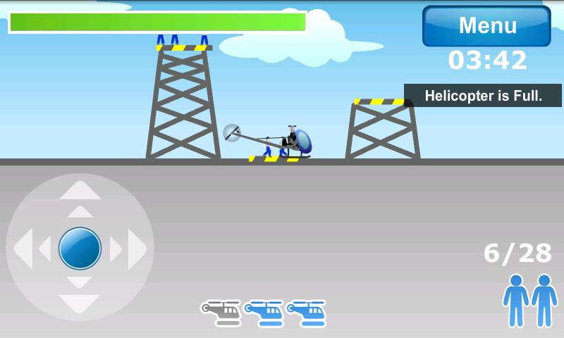 androidアプリ ヘリコプターエアレスキュー攻略スクリーンショット3
