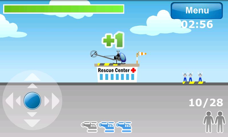 androidアプリ ヘリコプターエアレスキュー攻略スクリーンショット4