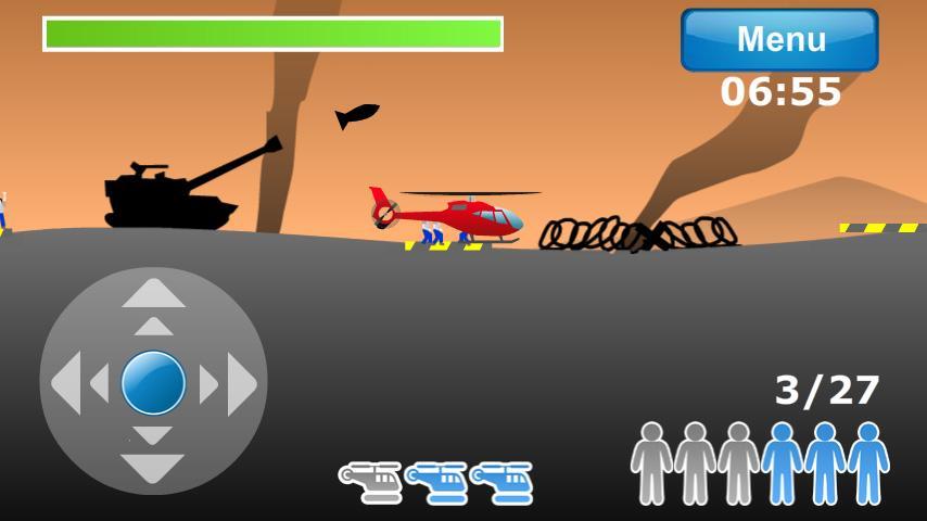 ヘリコプターエアレスキュー androidアプリスクリーンショット1