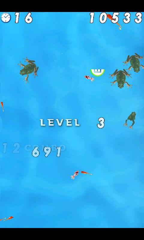 androidアプリ 金魚すくい 無料版攻略スクリーンショット4