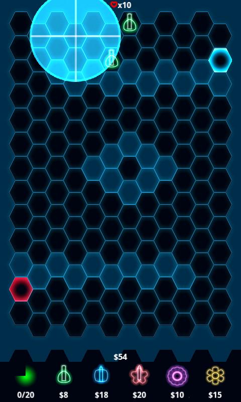 androidアプリ ゼットディフェンス ライト攻略スクリーンショット2